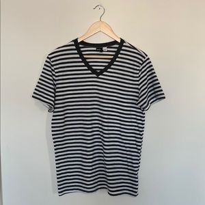 BDG Urban Outfitters Striped V Neck Medium/Large